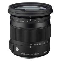 Sigma camera lens: 17-70mm F2.8-4 DC Macro HSM - Zwart