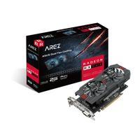 ASUS AREZ-RX560-2G-EVO Videokaart - Zwart, Rood