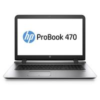HP laptop: ProBook 470 G3 - Zilver