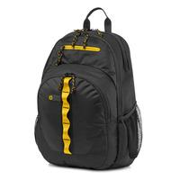 HP laptoptas: 15,6-inch zwart/geel sport backpack - Zwart, Geel