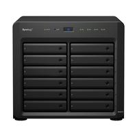 Synology NAS: DiskStation DS2415+ - Zwart