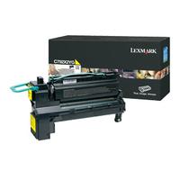Lexmark toner: C792 20K gele printcartridge - Geel