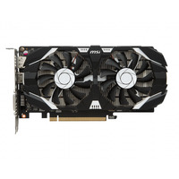 MSI videokaart: GeForce GTX 1050 Ti 4GT OC - Zwart, Grijs