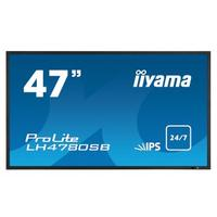 Iiyama public display: ProLite LH4780SB - Zwart