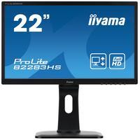 "Iiyama monitor: ProLite 22"" LED Monitor  - Zwart"