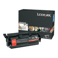 Lexmark cartridge: X654, X656, X658 36K printcartridge - Zwart