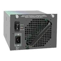 Cisco Catalyst 4500 1400W DC Power Supply Redundant w/Int PEM power supply unit - Zwart