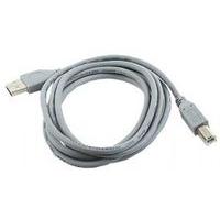 Gembird USB kabel: 1.8m USB 2.0 A/B M - Grijs