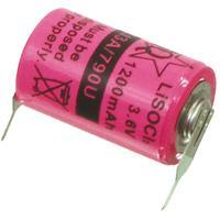 HQ batterij: Lithium thionyl chloridebatterij 3.6 V 1200 mAh