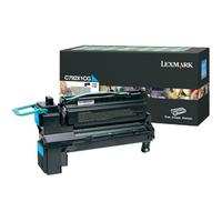 Lexmark cartridge: C792 20K cyaan retourprogramma printcartr.