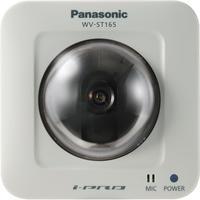 "Panasonic beveiligingscamera: WV-ST165, 1/4"", IP, PoE, H.264, JPEG, 1280 x 960, 760g - Wit"