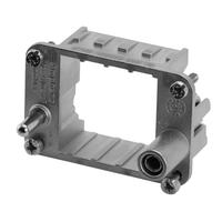 Amphenol Frame for 2-socket modules, Size E6 Multipolaire connector-behuizing - Metallic