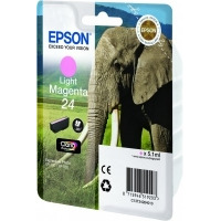 Epson inktcartridge: Singlepack Light Magenta 24 Claria Photo HD Ink - Lichtmagenta