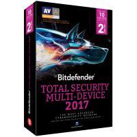 Bitdefender algemene utilitie: Total Security Multi-Device 2017 (2 Jaar / 10 Users) Onbeperkte Apparaten