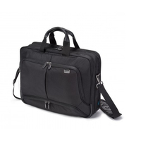 Dicota laptoptas: TopTraveller PRO 15-17.3, Nylon - Zwart