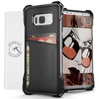 Ghostek mobile phone case: Exec Wallet Case Samsung Galaxy S8+ Black - Zwart