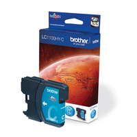 Brother inktcartridge: LC-1100HYC Inktcartridge cyaan