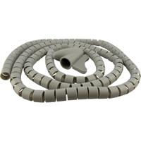 Schwaiger kable insulatie: Spiral Cable Wrap (Ø 28 mm) - Grijs