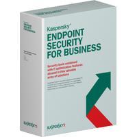 Kaspersky Lab software: Endpoint Security f/Business - Select, 15-19u, 2Y, GOV RNW
