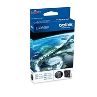 Brother inktcartridge: LC-985BKBP Inktcartridge zwart, Blister