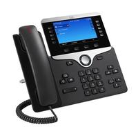 Cisco ip telefoon: 8841 - Zwart, Zilver