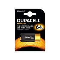 Duracell RAM-geheugen: 64GB USB 3.0 High Performance - Zwart, Oranje