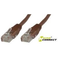 Microconnect netwerkkabel: UTP CAT5E 7M - Bruin