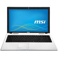 MSI laptop: Classic CX61-2QFi581W - Zwart, Wit