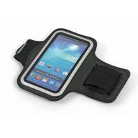 "Omega mobile phone case: Sports Armband, black, max 5"" - Zwart"