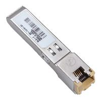 Cisco netwerk tranceiver module: 1000BASE-T SFP transceiver module for Category 5 copper wire, RJ-45 connector