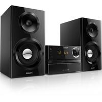 Philips home stereo set: MCM2350 - CD, MP3-CD, USB, FM, 70W - Zwart