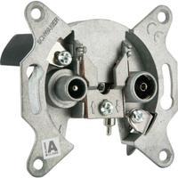 Schwaiger wandcontactdoos: RDS30 531 - Aluminium
