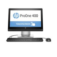HP all-in-one pc: ProOne 400 G2 - Intel Core i3 - Touchscreen - Zilver