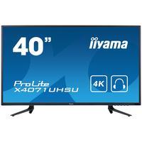 "Iiyama monitor: ProLite X4071UHSU-B1 39,5"" 4K UHD MVA - Desktop - Zwart"