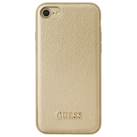 GUESS mobile phone case: GUHCP7IGLGO - Goud