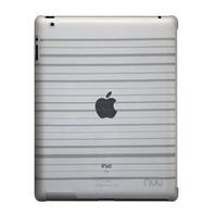 NUU BaseCase Stripe Tablet case - Grijs