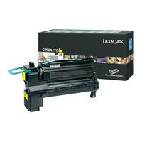 Lexmark toner: C792, X792 6K gele retourprogramma printcartr. - Geel