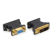 Ewent DVI-A - VGA, M-F Kabel adapter - Blauw