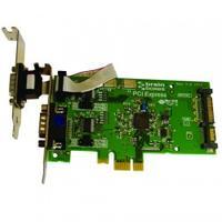Brainboxes interfaceadapter: 2 x RS232, 9 Pin (M), PCI Express - Groen