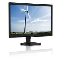 """Philips monitor: Brilliance LCD-monitor 24""""  - Zwart"""
