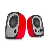 Edifier Speaker: R12U - Zwart, Zilver, Rood