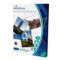 MediaRange fotopapier: DIN A4 Photo Paper for inkjet printers, dual-side high-glossy coated, 160g, 50 sheets - Wit