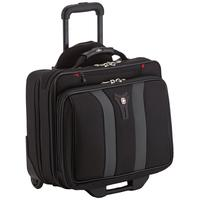 "Wenger/SwissGear laptoptas: GRANADA 17"" Wheeled Laptop Case with Telescopic Trolley Handle, Overnight Compartment and ....."