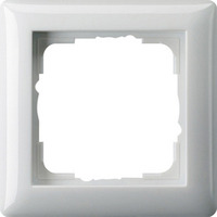 GIRA : Afdekraam Standaard 55 zuiver wit glanzend, enkelvoudig
