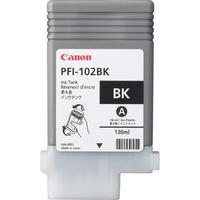 Canon inktcartridge: PFI-102BK - Zwart
