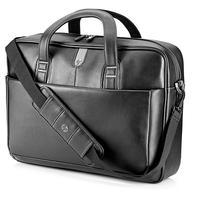 "HP laptoptas: Professional Leather Case 17,3"" - Zwart"