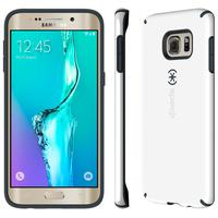 Speck mobile phone case: CandyShell for Galaxy S6 Edge+ - Grijs, Wit