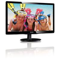 Philips monitor: LCD-monitor met LED-achtergrondverlichting 226V4LAB/00 - Zwart