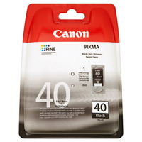 Canon inktcartridge: PG-40 - Zwart