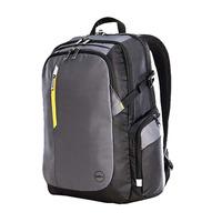 DELL laptoptas: Tek rugzak 17 inch - Zwart, Grijs, Geel
